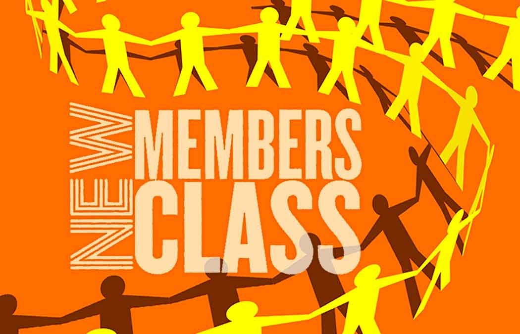 Save the Date: New Members Class