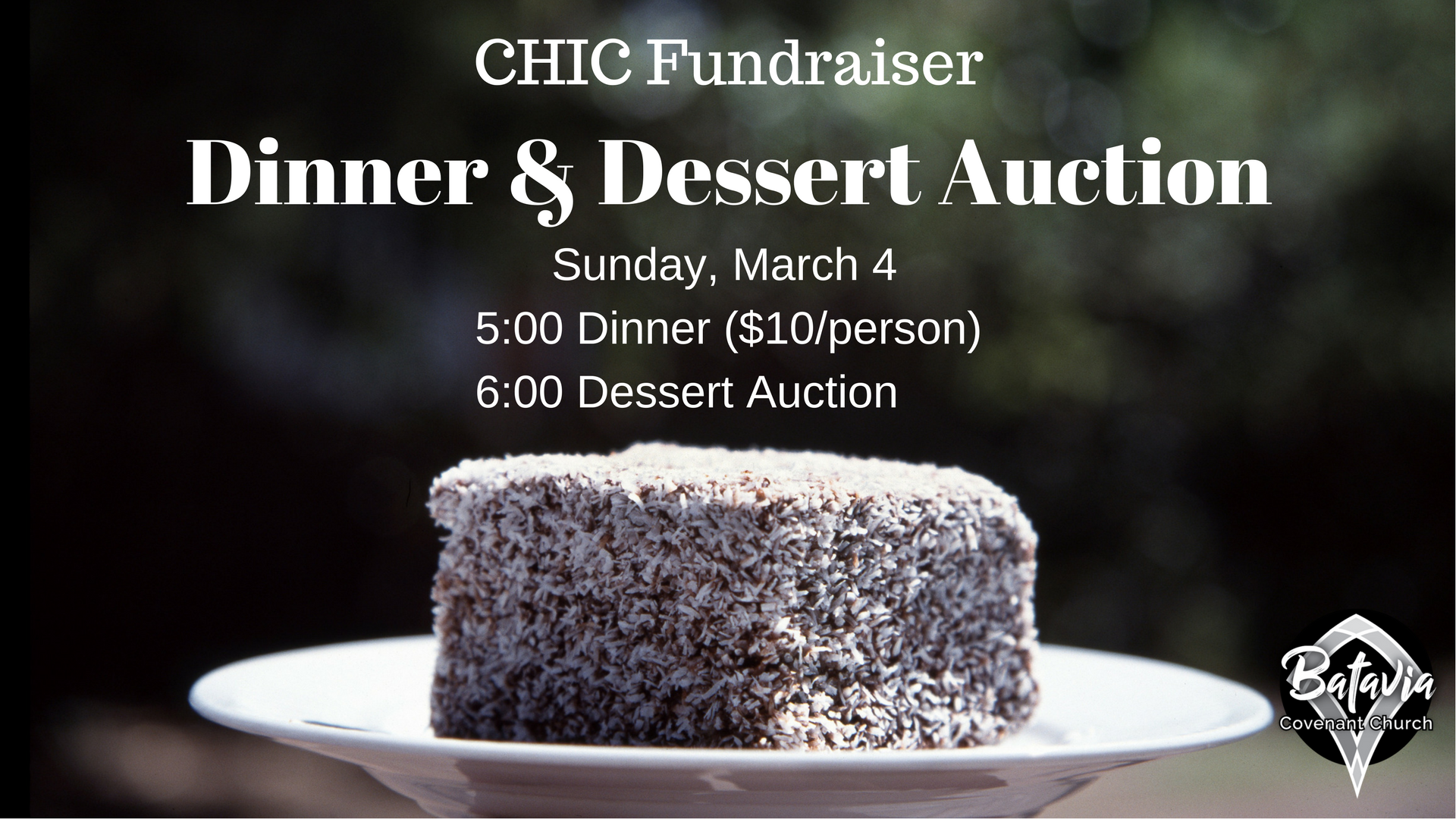 Dinner & Dessert Auction