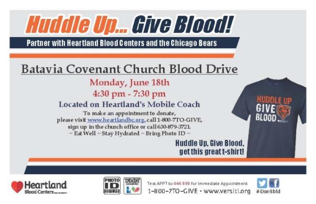 Blood Drive @ BCC