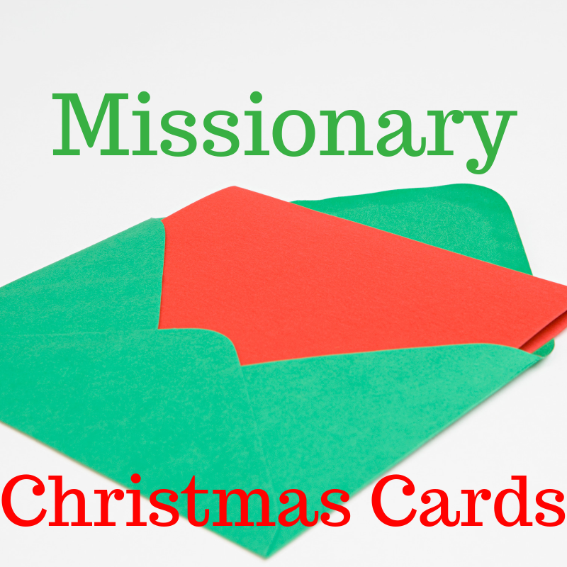 Missionary Christmas Cards