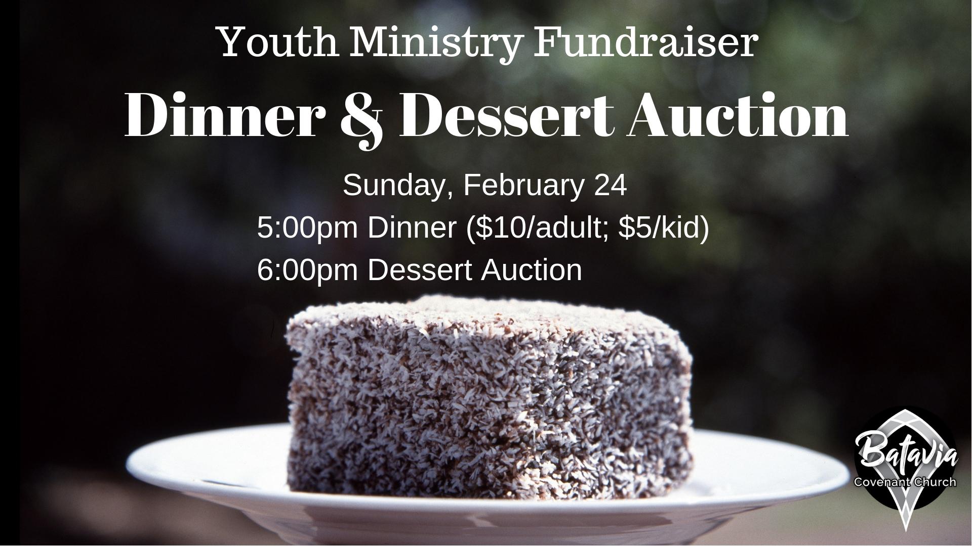 Dinner & Dessert Auction