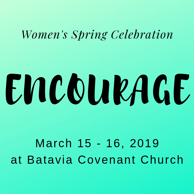 Women's Spring Celebration: March 15th -16th