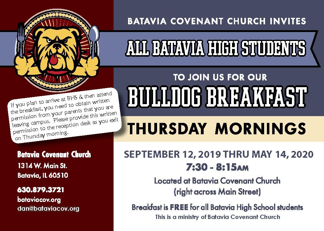 Bulldog Breakfast